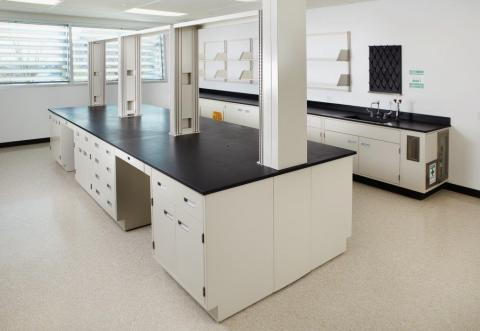 lab fully fitout